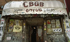 CBGB on Bowery, now the John Varvatos Store (photo: Jim Cooper/AP)