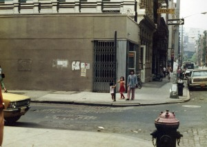 The corner of Prince and Greene, ca. 1975