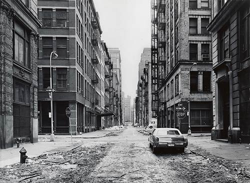Crosby Street & Spring Street, 1978 (Photo by Thomas Struth)