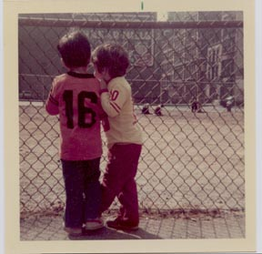 The ball field at NYU Playground, 1973 (submitted by Michael)