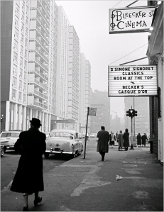 The Bleecker Street Cinema, located on Bleecker near LaGuardia Place (source unknown)