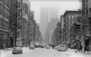 West Broadway in the late 70's or early 80's (photo: Mira Schor via The Huffington Post)