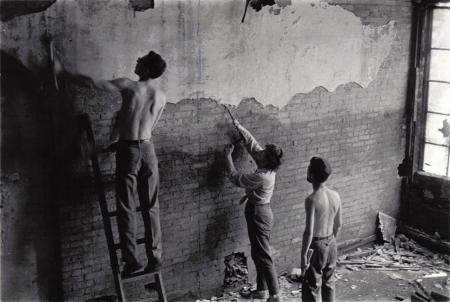 Renovations at 498 Broome Street, ca. 1963