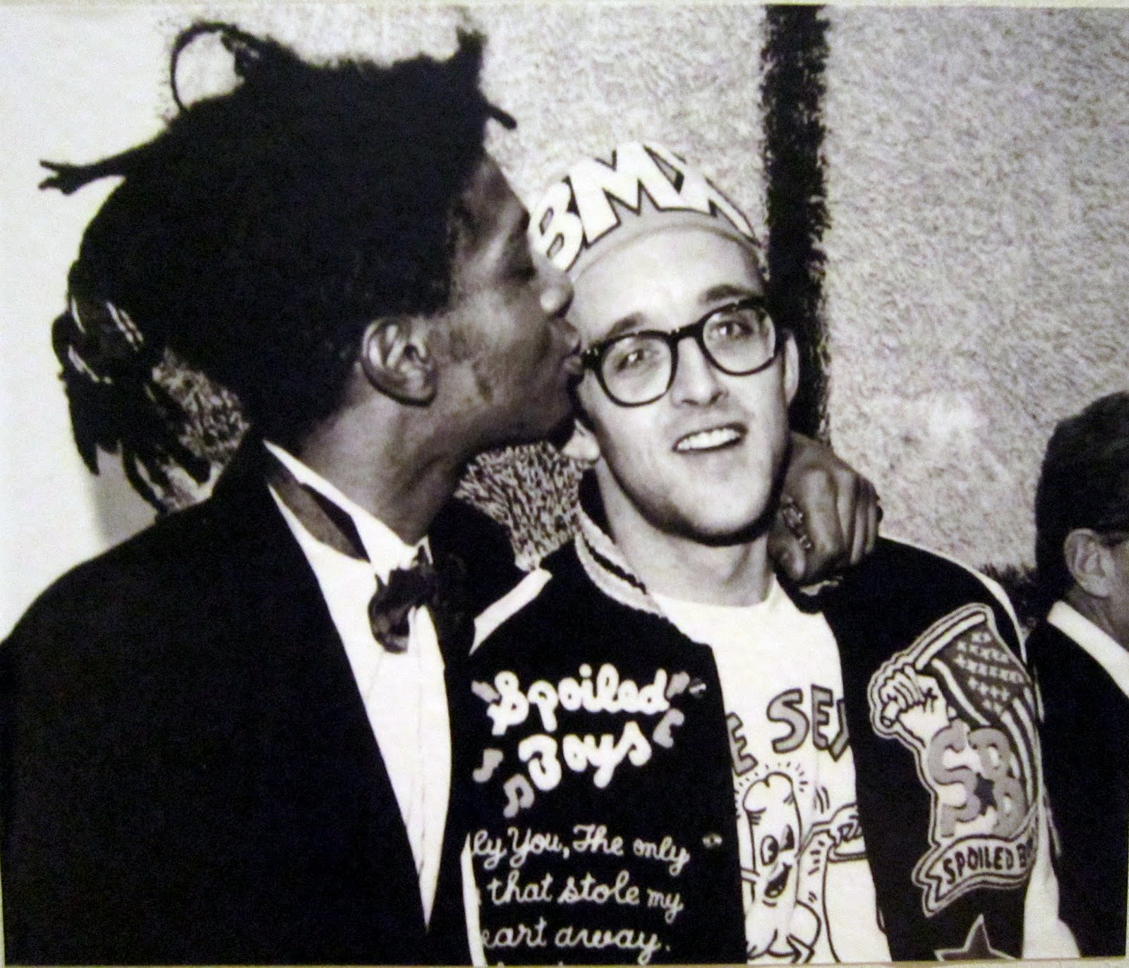Keith Haring and Jean-Michel Basquiat, 1987