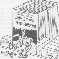 Illustration from the SoHo Newsletter, June 7, 1974