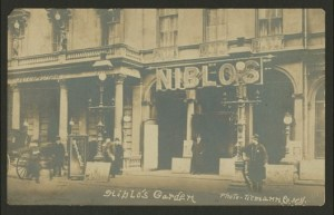 Niblo's Theater on Broadway at Prince