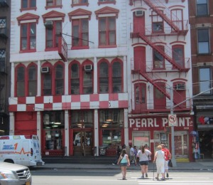 Pearl Paint on Canal Street