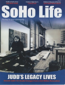 SoHo Life May 2013 Cover