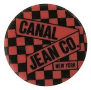 canal jean button