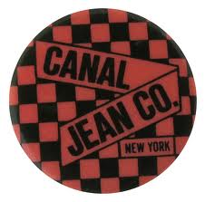 The infamous and much collected Canal Jean button