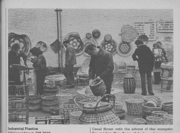 Browsing at the flea market (image: Anderson & Archer's SoHo)