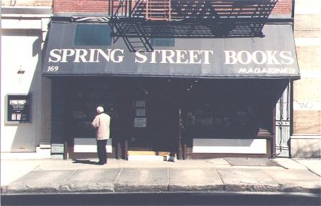 Spring Street Books (photo: Bob Edelson source: sohobooks.net)