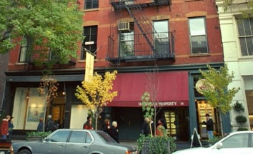 451 West Broadway now houses a Halstead Real Estate office