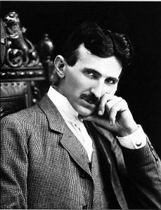 Nikola Tesla (c. 1896) Courtesy of Wikipedia