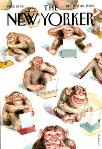 Cover of the December 30, 2002 issue of THE NEW YORKER by Barry Blitt