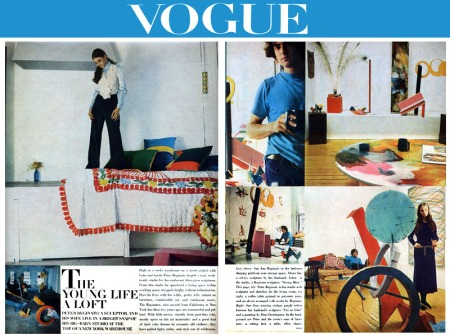 Articl about Peter in Vogue, 1966