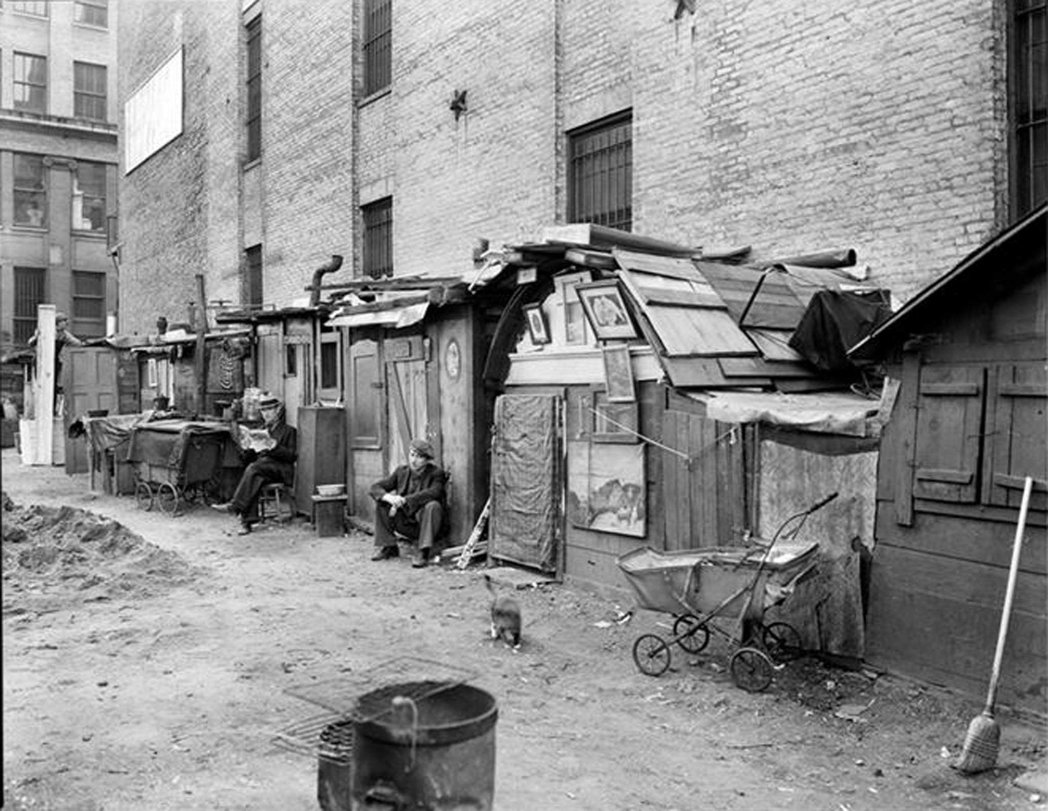 people during the great depression
