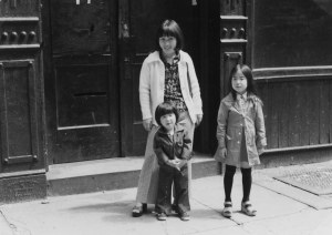 In front of 97 Crosby Street (ca. 1975)