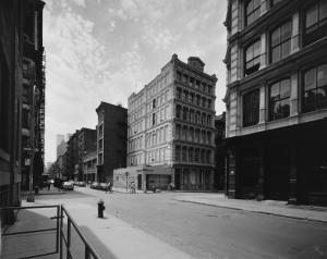 Greene Street Looking toward Prince (image: MCNY)
