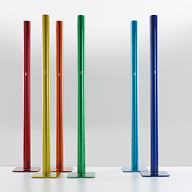 Standing floor lamps from Artemide, member of the SoHo Design District