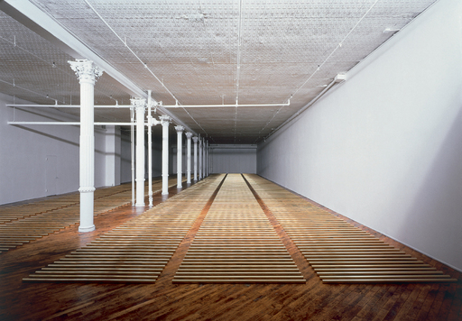Walter De Maria, The Broken Kilometer, 1979. Long-term installation, 393 West Broadway, New York City. Photo: Jon Abbott