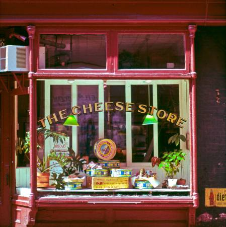 The Cheese shop, Giorgio DeLuca's first foray into the food business. He had been teaching High school in Brooklyn. His father was in the olive trade and knew a few people in cheese. He connected with Dean after a while creating Dean & DeLuca and a whole new kind of experience. (Ben Schonzeit)