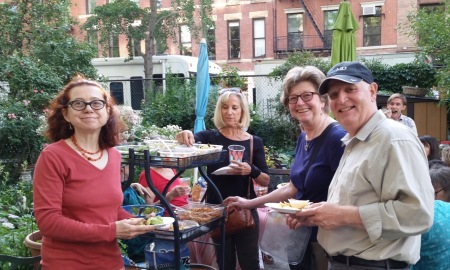 Community members at this year's June Garden Party