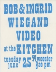 Wiegands at the Kitchen Flyer