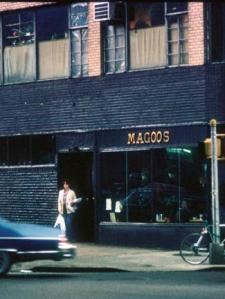 Exterior of Magoo's, 1978. (Photo: Ken Nadle via Art in America)