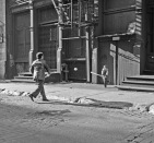 Baseball on Crosby Street, 1983 (photo: Jody Saslow)